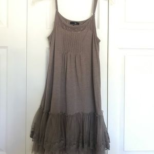 TJMaxx Adorable Boho Chic Mini Dress